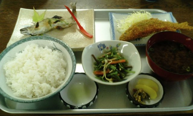 下呂温泉帰りに鮎の塩焼き料理
