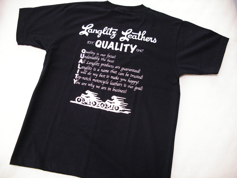 ラングリッツ・レザーズ Tシャツ (Langlitz Leathers)