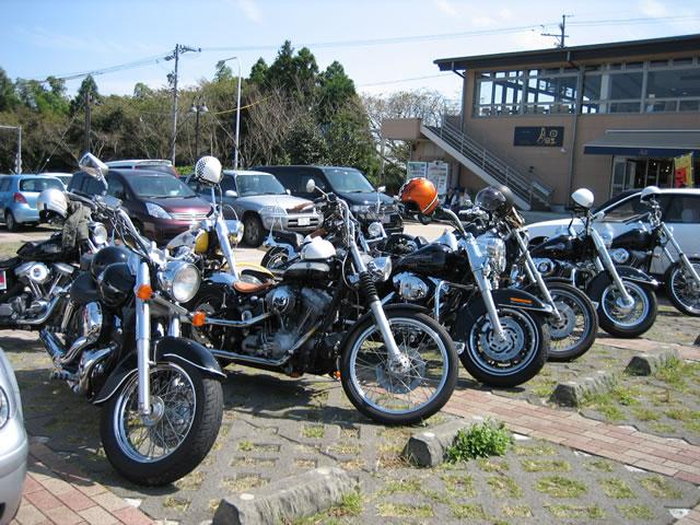 日本平 バイク集合