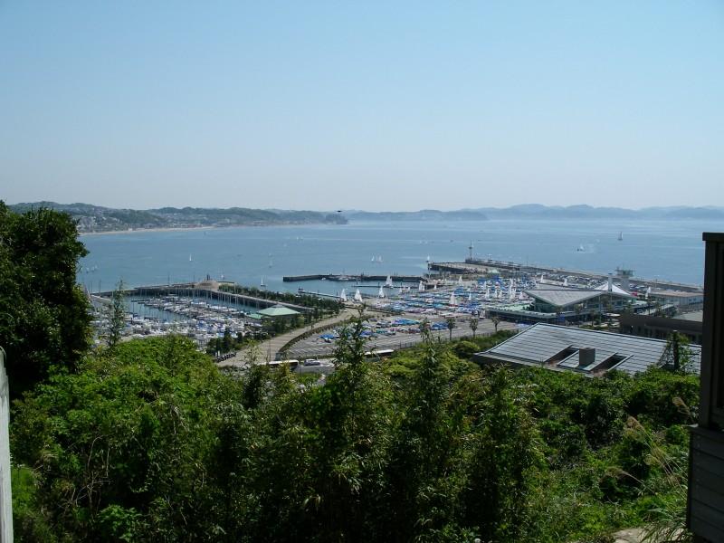 江ノ島から見た風景