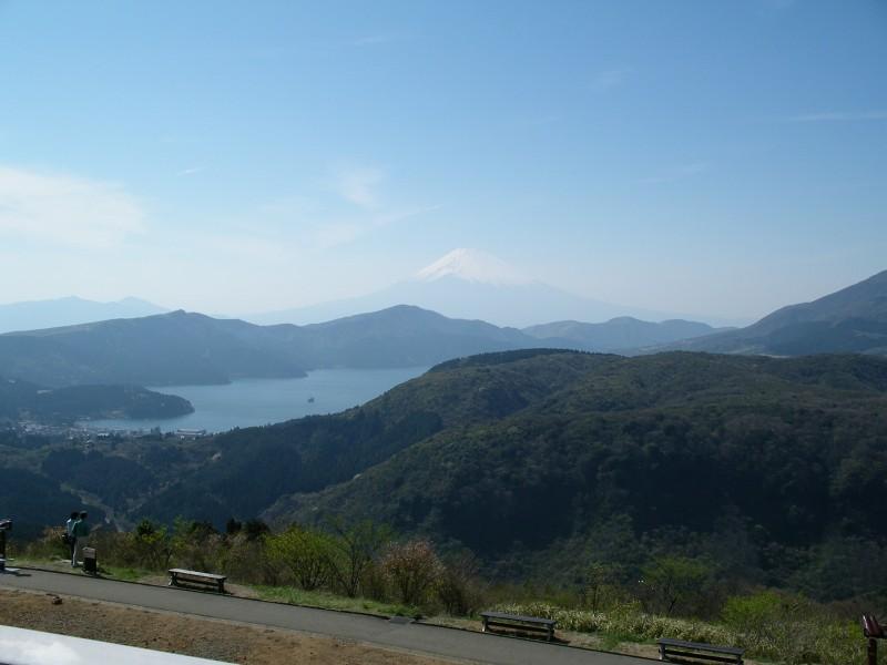 芦ノ湖・富士山