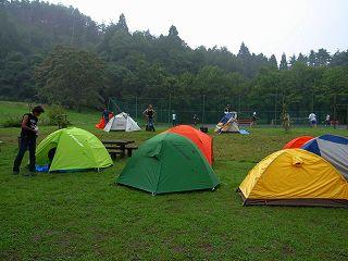 BH琵琶湖オフ2007 前泊キャンプ