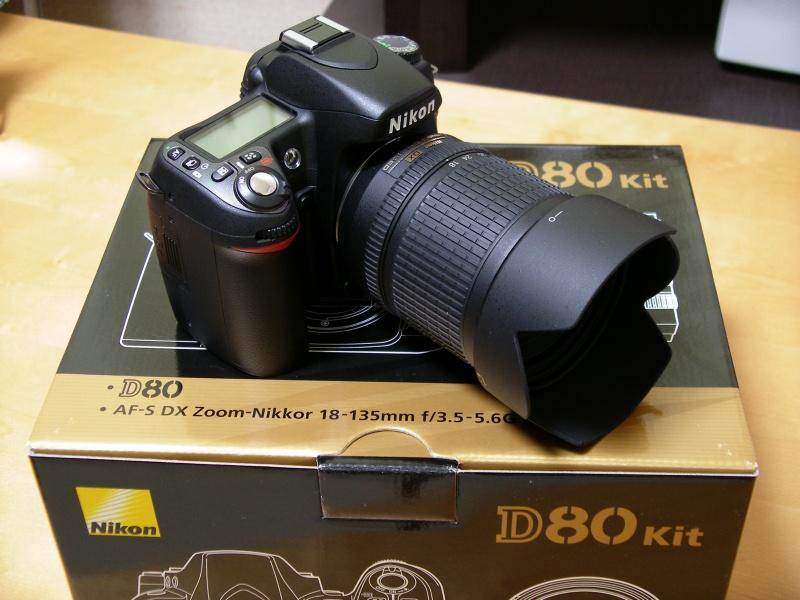 Nikon D80 18-135 lens kit