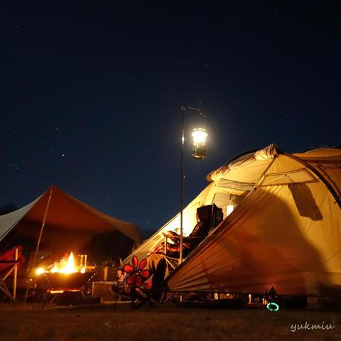今年最後のキャンプかな?うるぎ星の森キャンプ場