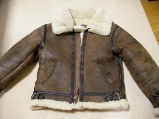 B-3 ジャケットを KADOYA Ref Leather (カドヤ リフレザー) に