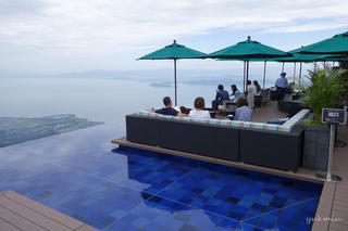 二日目の目的地、琵琶湖バレイのびわ湖テラス