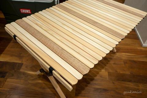 GW連休使ってキャンプ用のロールトップテーブルを自作DIY