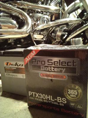 水没 DMC-LX3 / Deka から ProSelect バッテリーへ