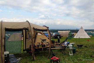 秋キャンプはふもとっぱらキャンプ場