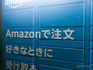 夏の夜 Amazon Hub ロッカーは虫だらけ
