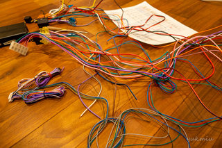 ジムニーのキーレス化にVIPER 5606V取り付け準備編1 - JA22W