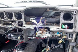 ジムニーのキーレス化にVIPER 5606V取り付け準備編2ダッシュボード解体と - JA22W