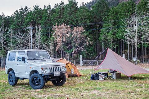 2020年11月のソロキャンプは三連休明けに「ふもとっぱら」キャンプ場