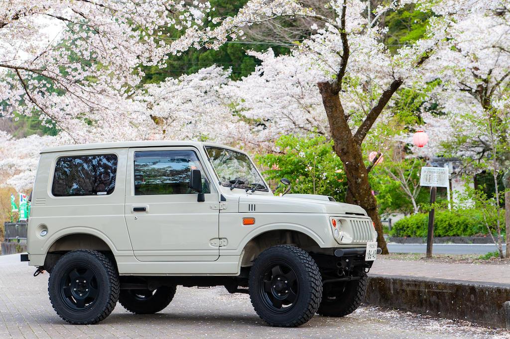 20190406172840_0.jpg 家山桜トンネルとジムニー