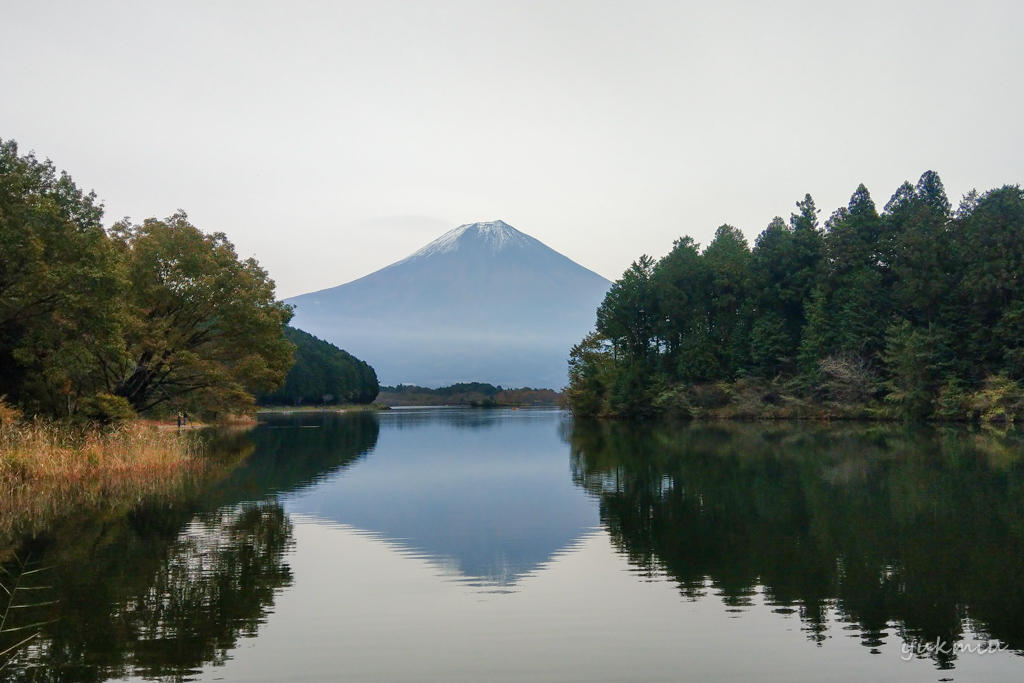 田貫湖でお風呂と逆さ富士