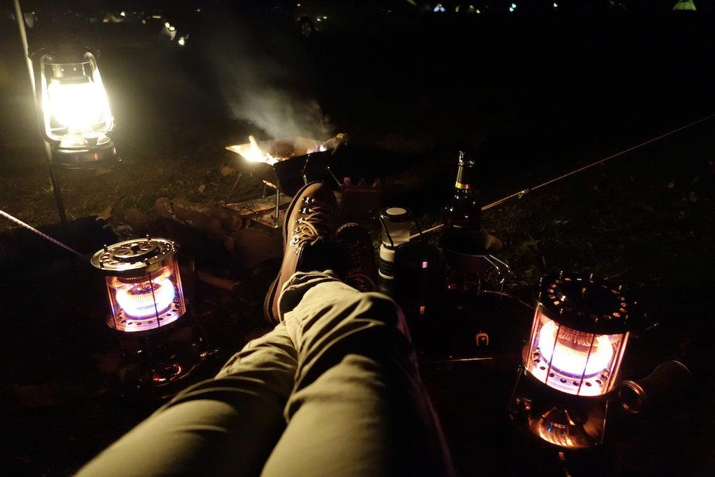 20201123 ふもとっぱらキャンプ 焚き火